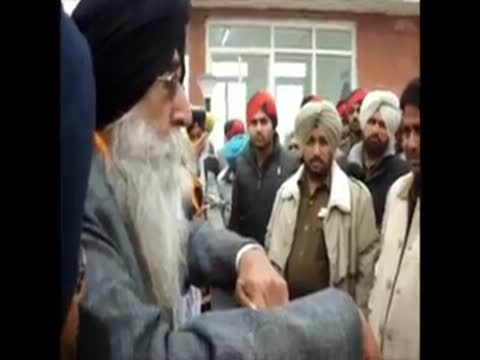 S.Simranjit Singh Maan on Fire, Must  Watch Full