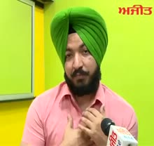 Interview with Turban Coach Bhupinder Singh Thind on Ajit Web TV.