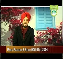 Sardari TV By Rana Sidhu Jan 7-2012