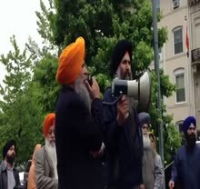 Dr. Amarjit Singh speaks at DC Prof. Bhullar Protest on May 7, 2013