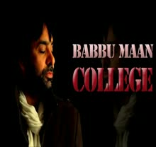 College - Babbu Maan - Exclusive - Live Brand New Punjabi Songs 2014