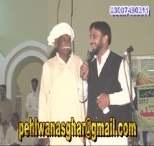 Heer moqabala(competition) by pehlwan asghar ali rehmani gujranwala